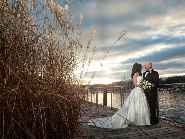 Tmx 38 Bride Groom Wedding Sunset Boat Marina Lake 51 3130 158989741051336 Garden City, NY wedding photography