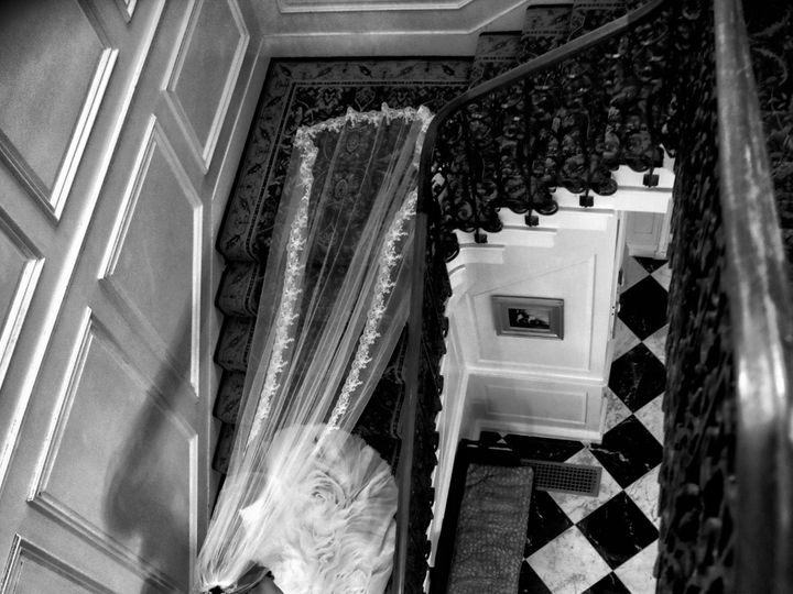 Tmx 99 Bride Stairs Wedding Veil Artistic 51 3130 158989742841032 Garden City, NY wedding photography