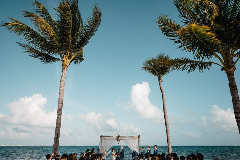 Ceremony in Cancun