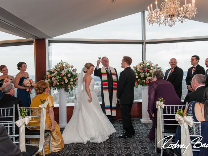 Tmx 1483986419400 0569reneeandpatrickweddingtopofthetownrodneybailey Clifton, VA wedding officiant