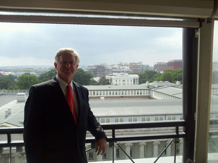 Tmx 1483987083334 Jim With White House Clifton, District Of Columbia wedding officiant