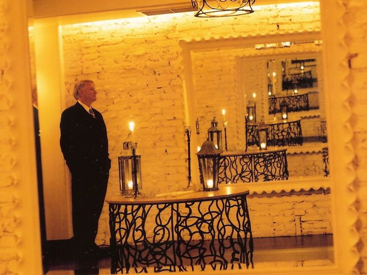 Tmx 1483987234620 Jim With Candles In Yellow Clifton, District Of Columbia wedding officiant