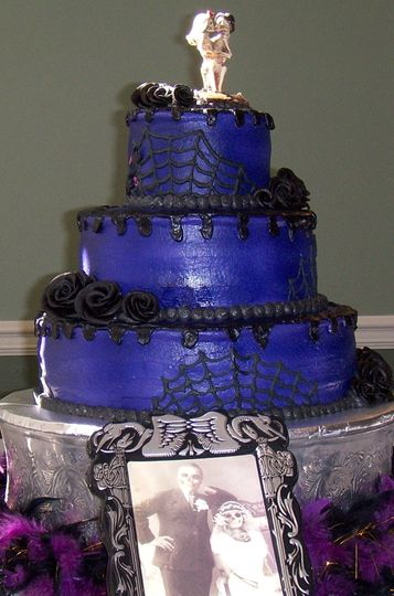 halloween wedding cake 007