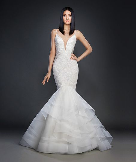 Lazaro photos dress attire pictures new york new for Wedding dress rental manhattan