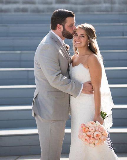 Newlyweds couple