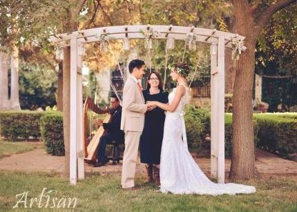 Rick Tan Harp The Yolanda Ranch, Woodland Artisan Wedding Photography
