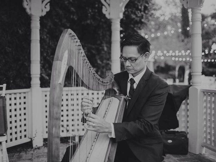 Tmx 1424848404271 Amy And Donny Harp Bw Davis wedding ceremonymusic