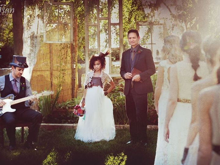 Tmx 1424849859791 Stylized Shoot 10.19.14 Officiant Guitar Flower Gi Davis wedding ceremonymusic