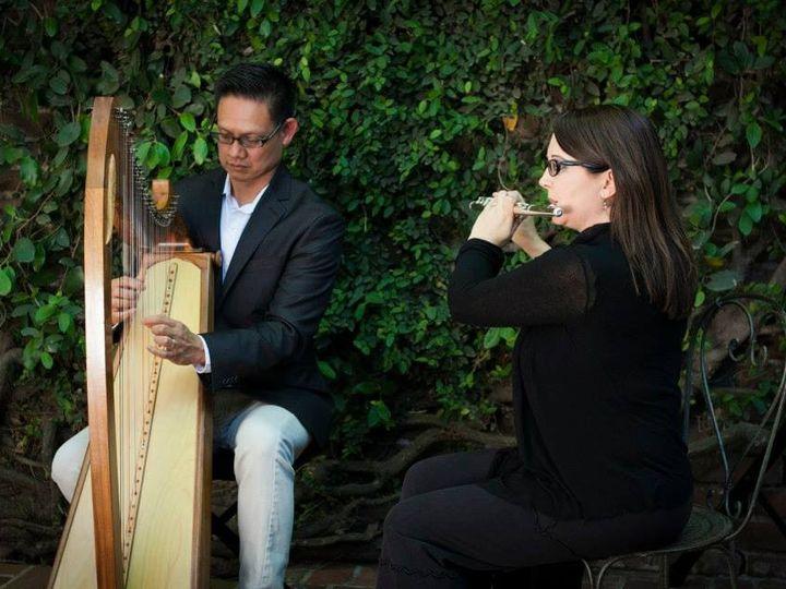 Tmx 1436459543684 John And Jula Harp Flute Davis wedding ceremonymusic