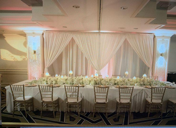 Wedding reception Hyatt Regenc