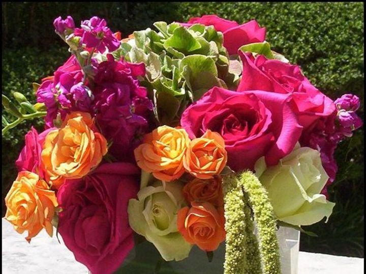 Tmx 1233164176703 Squarevasebrightcolors Dallas wedding florist