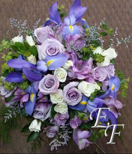 iris wedding