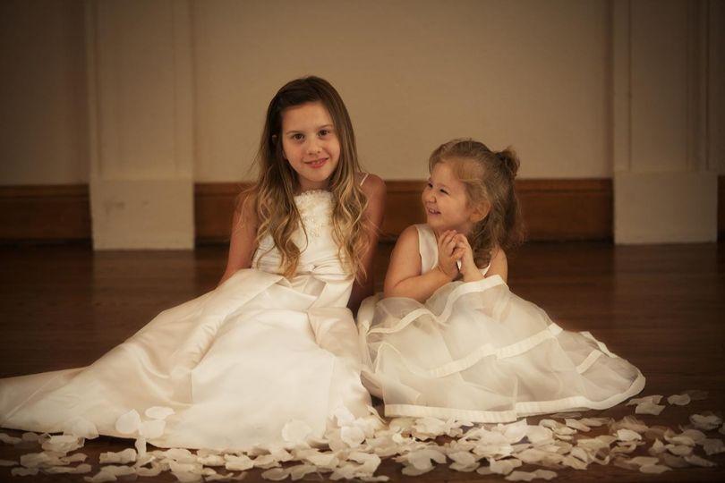 Junior wedding attendants