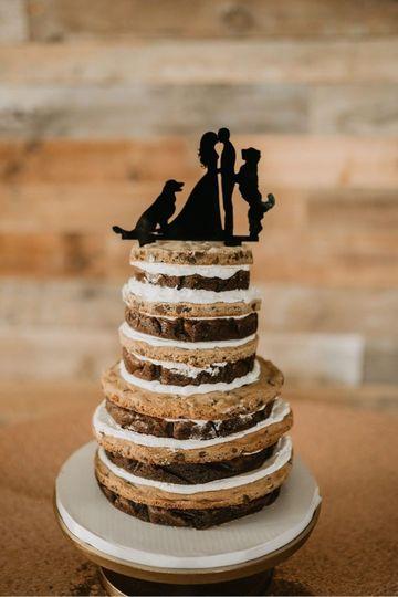 Cookie Brownie Cake