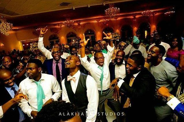 Wedding party in Houston