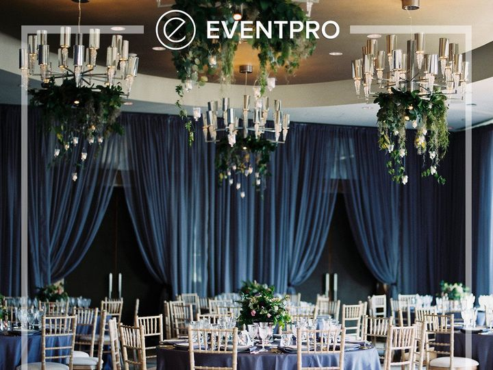 Tmx 1489893248097 Eventpro Weddingwire Drapery2 Glen Burnie wedding eventproduction