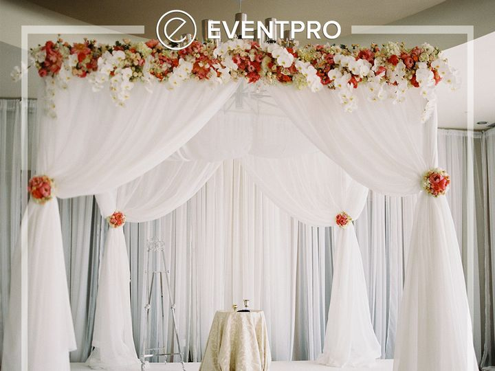 Tmx 1489895529632 Eventpro Weddingwire Drapery9 Glen Burnie wedding eventproduction