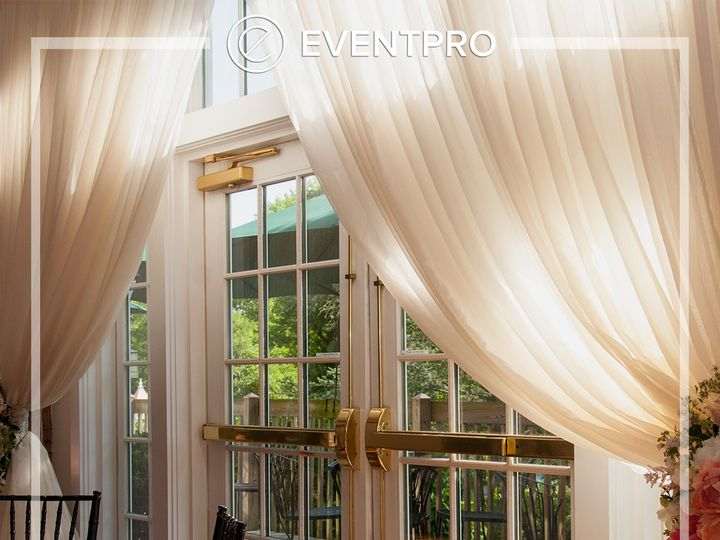 Tmx 1489900476577 Eventpro Weddingwire Drapery17 Glen Burnie wedding eventproduction