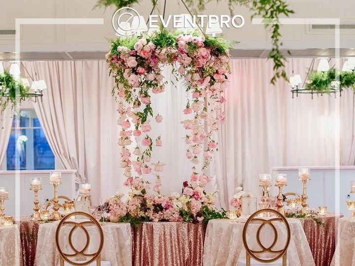 Tmx 1489900495510 Eventpro Weddingwire Drapery18 Glen Burnie wedding eventproduction