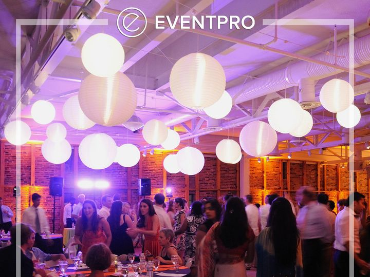 Tmx 1489904065141 Eventpro Weddingwire Ceilingtreatment6 Glen Burnie wedding eventproduction