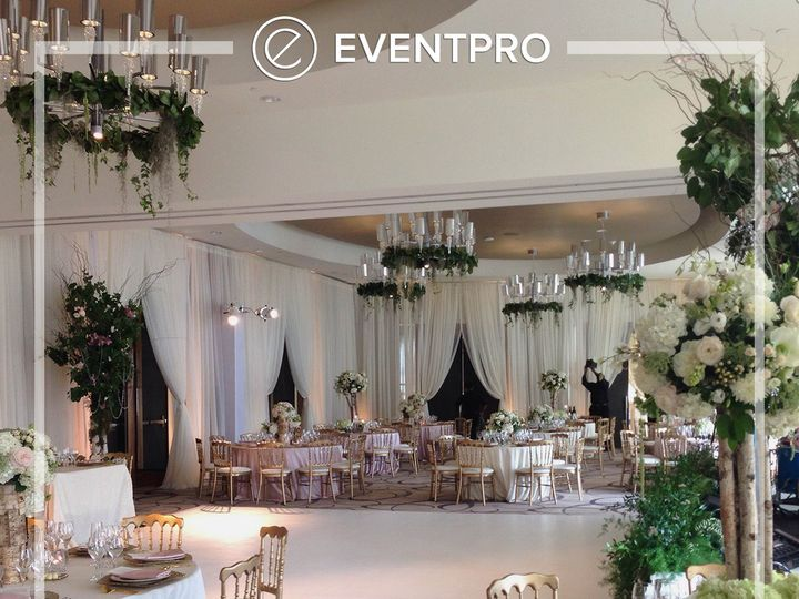 Tmx 1489907553319 Eventpro Weddingwire Drapery6 Glen Burnie wedding eventproduction