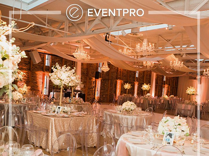 Tmx 1489987860242 Eventpro Weddingwire Ceilingtreatment4 Glen Burnie wedding eventproduction