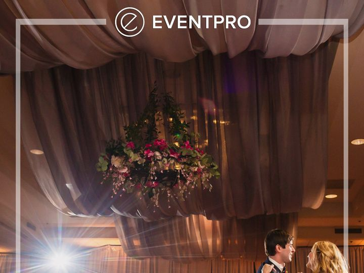 Tmx 1489987877625 Eventpro Weddingwire Ceilingtreatment9 Glen Burnie wedding eventproduction