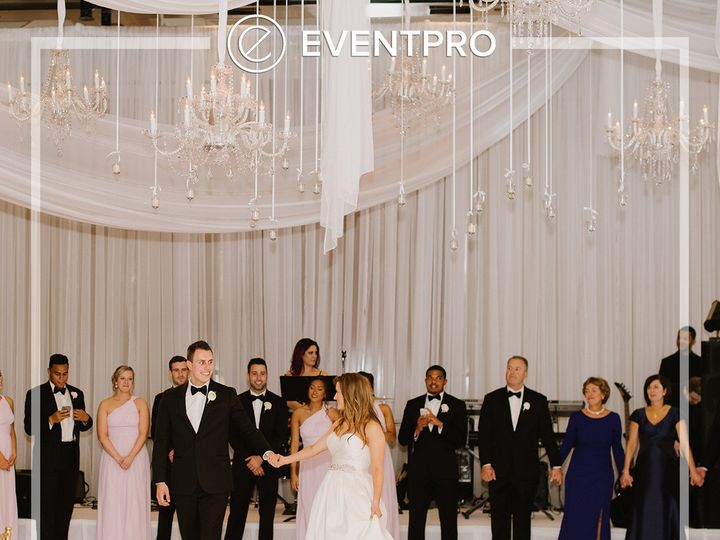 Tmx 1489988609838 Eventpro Weddingwire Chandeliers3 Glen Burnie wedding eventproduction