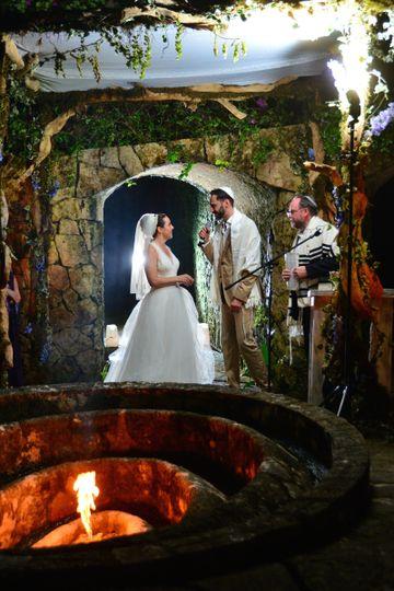 A warm ceremony