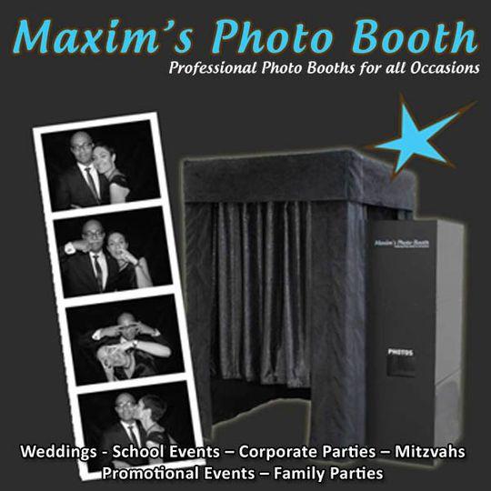 Maxim's Photo Booth