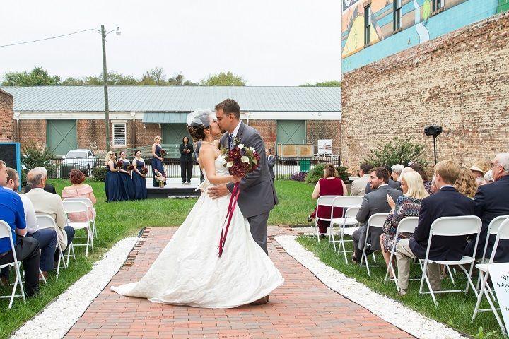 Art park wedding