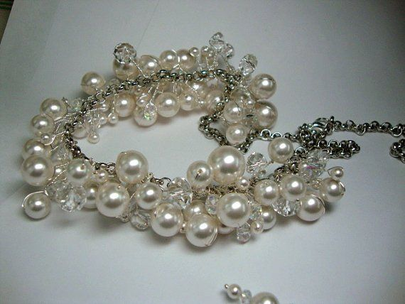 Tmx 1312346371745 PearlandCrystalPrincessnecklace Greeley wedding jewelry