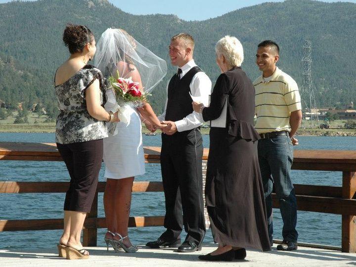 Tmx 1498139487564 Ceremony W Water Estes Park  Wedding Day Joys.com Denver wedding officiant