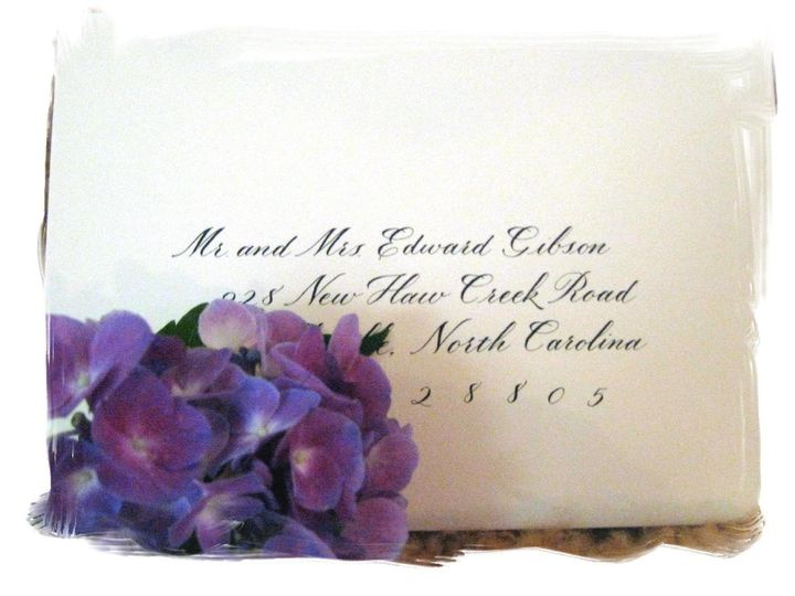 Tmx 1348765039665 Blogbell Hendersonville wedding invitation