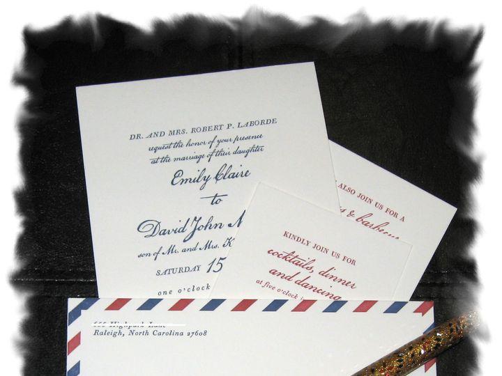 Tmx 1416525190991 Blog Emily Hendersonville wedding invitation