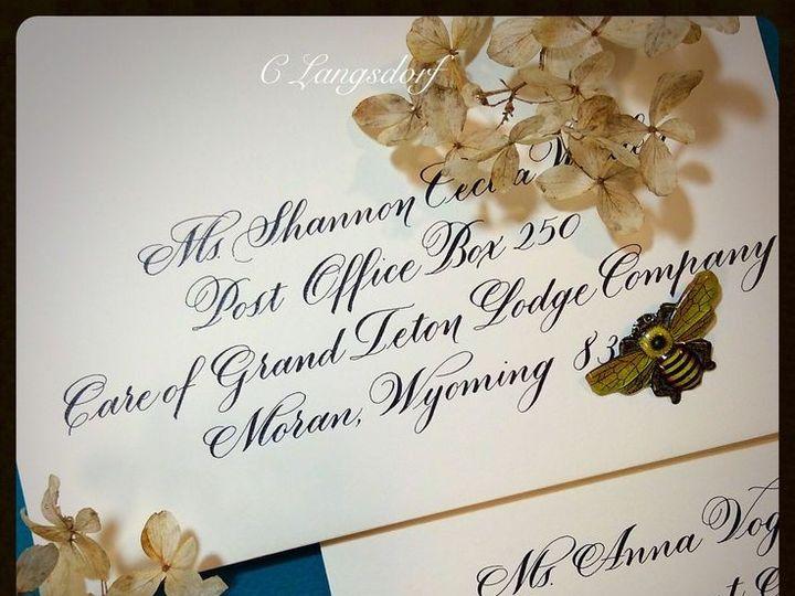 Tmx 1448055554181 Env Hendersonville wedding invitation