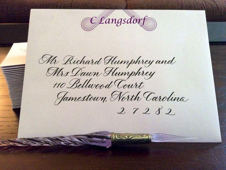 Tmx 1464826116686 Aug14 Holly Hendersonville wedding invitation
