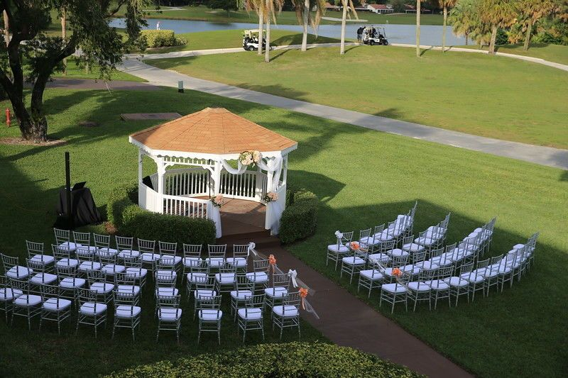 Outdoor Wedding set-up
