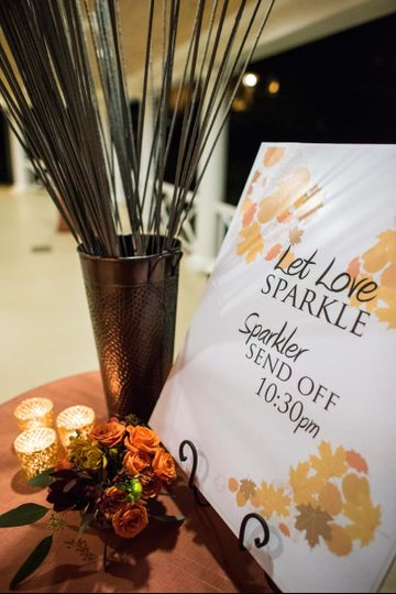 Sparkler send off package
