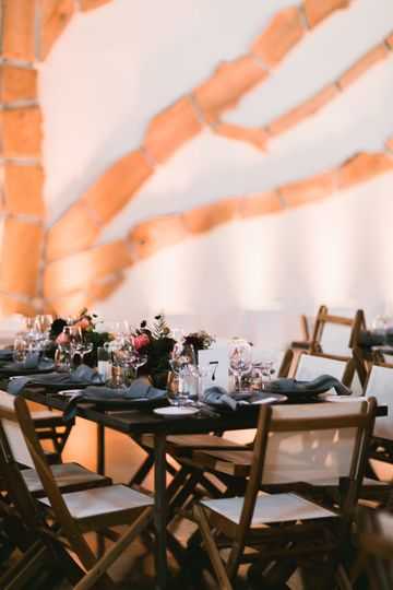 Table setups - LRE Catering