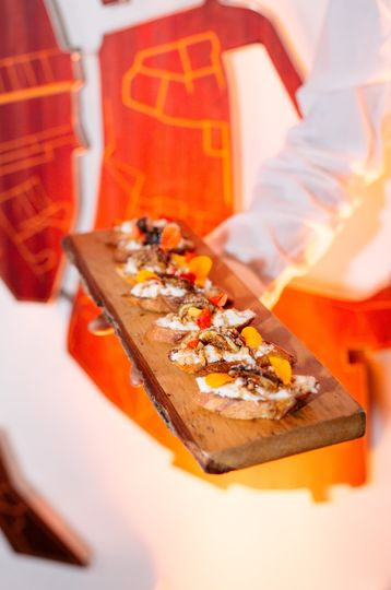 Mouth-watering dishes - LRE Catering