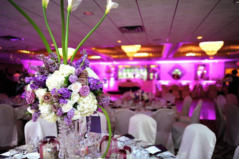 Pink indoor space