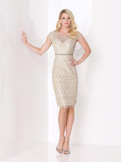 Classy beige dress