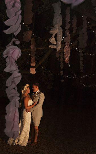 Couple photo in the dark