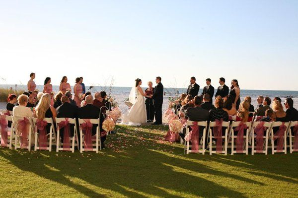 Martha Stewart wedding ceremony
