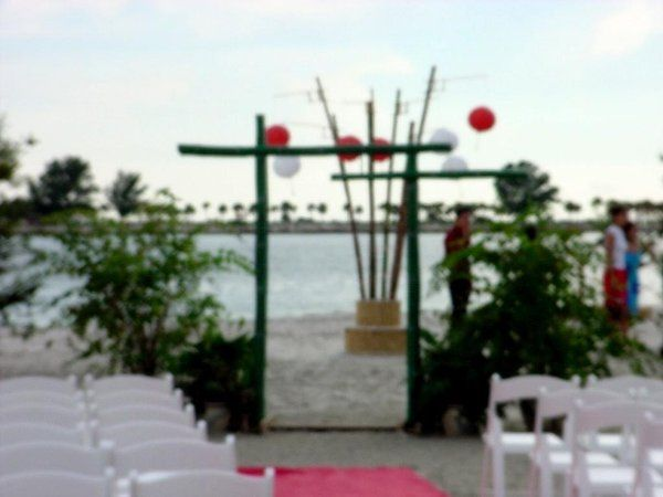 Ceremony decor oriental