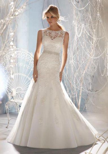 Black Tie &amp Bridal Lace Wedding Dress &amp Attire California ...