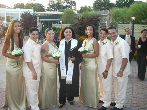 Same Sex Union Wedding Party-New Rochelle, New York
