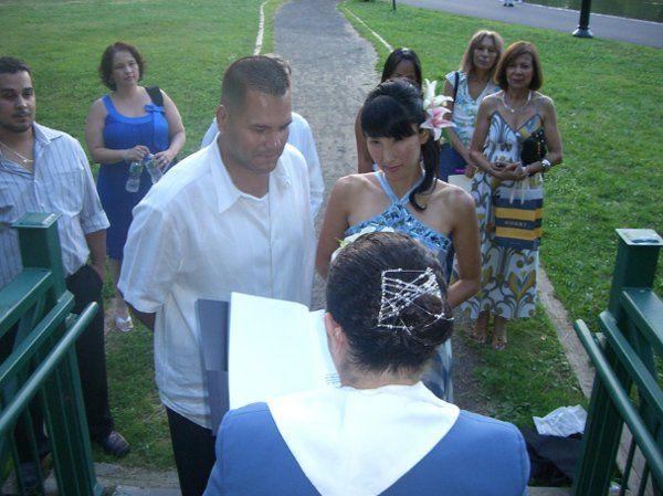 Bergen County New Jersey Sunset Wedding
