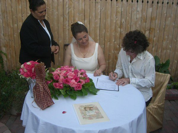 Signing the License